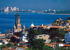 Puerto Vallarta on the Beautiful Bay of Banderas.
