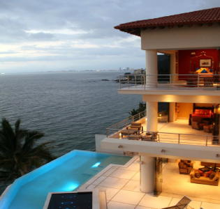 Beautiful view of Puerto Vallarta