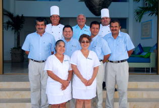 Fantastic staff of Casa Demae II.